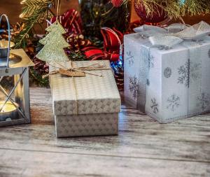 Weihnachtsgeschenke per Rechnung