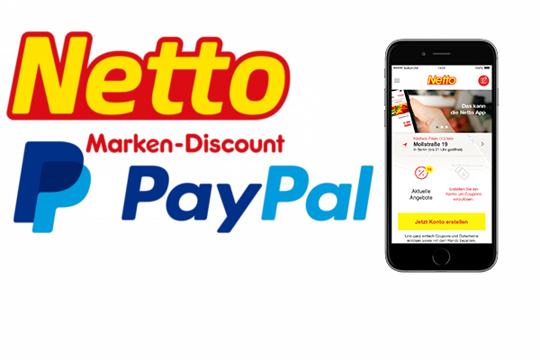 Paypal x Netto App