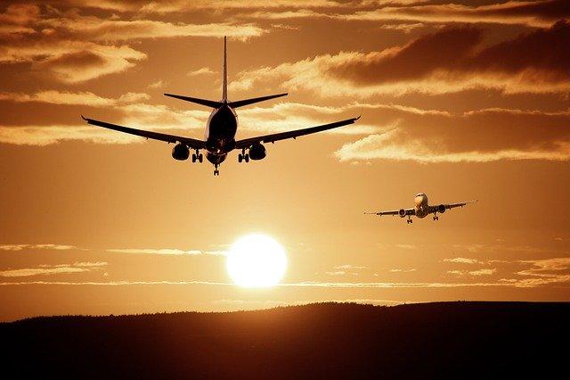 Reisen Flugzeuge