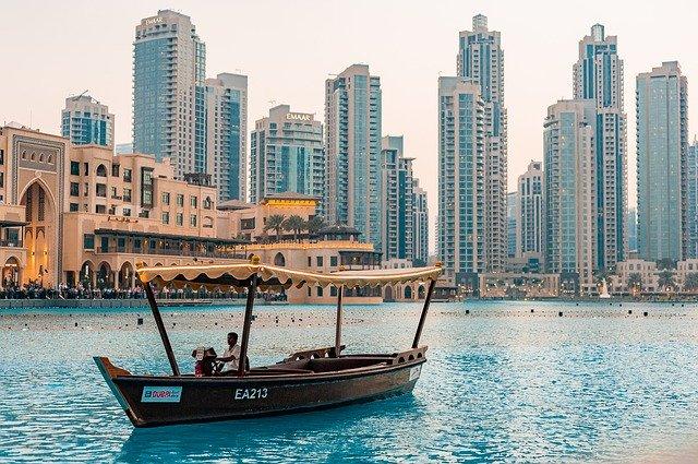 Dubai Meer