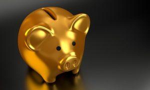 Geld sparen Sparschwein