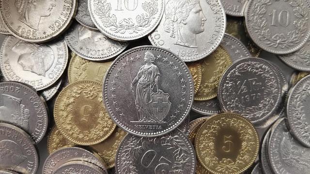 Schweizer Franken und Rappen