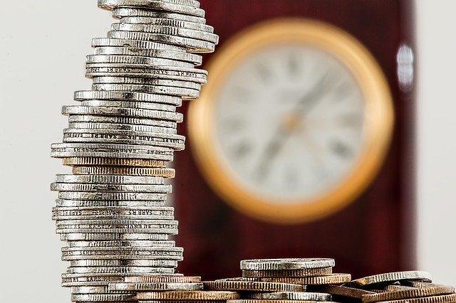 Geld Uhr