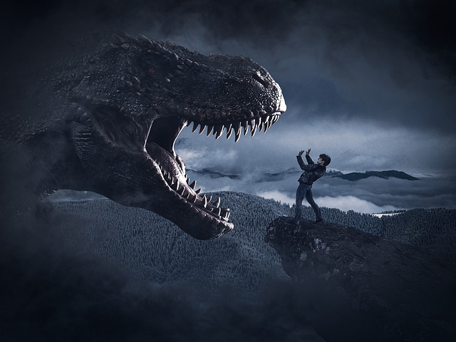 Dinosaurier fressen