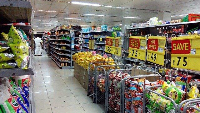 Sale Supermarkt