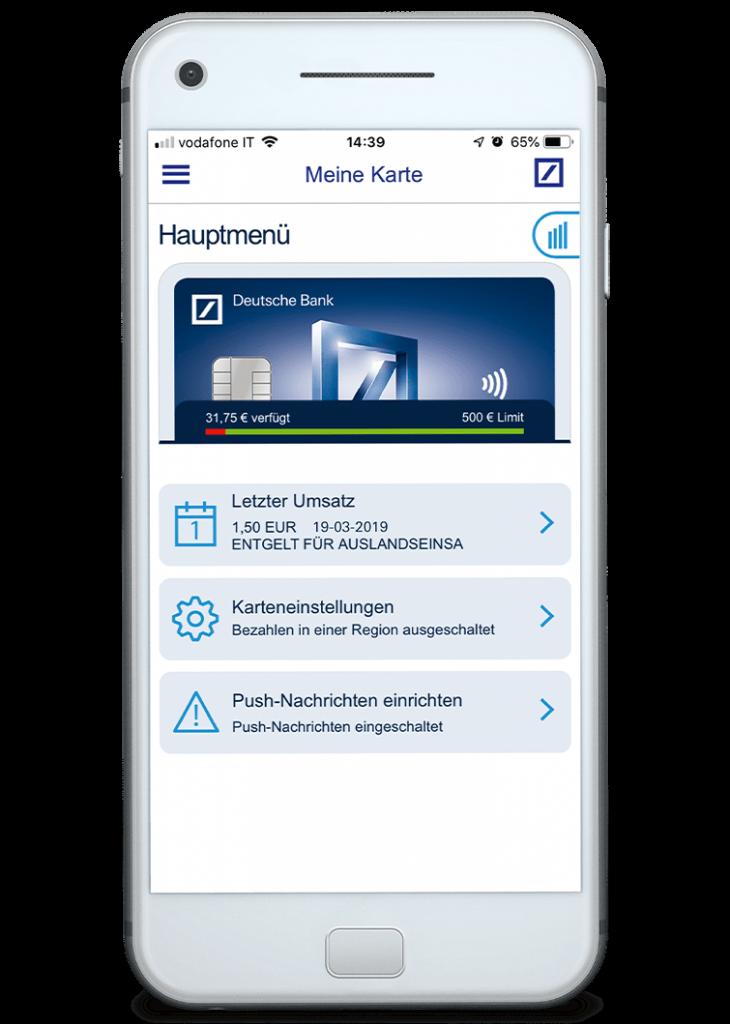 Deutsche Bank Smartphone