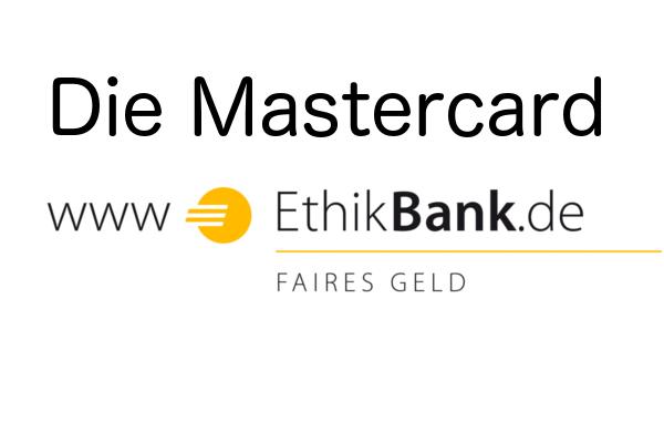 Die Mastercard der Ethikbank