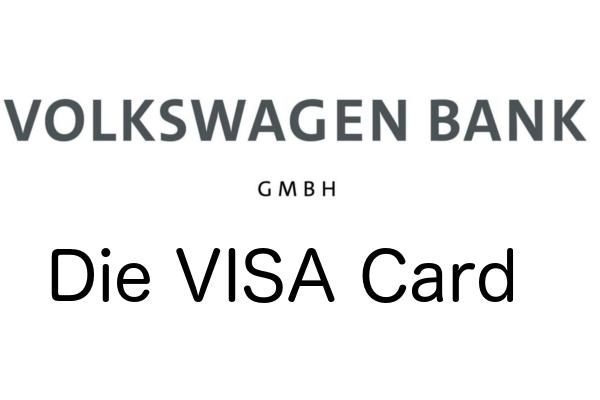 VISA Karte der VW Bank
